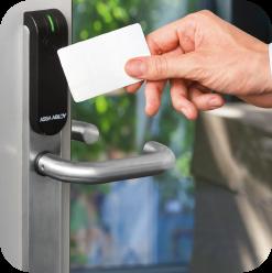 sicurezza attiva controllo accessi valeri service